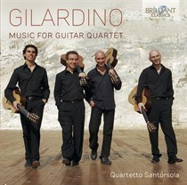 'Gilardino - Music for guitar quartet'