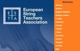 ESTA - EUROPEAN STRING TEACHERS ASSOCIATION